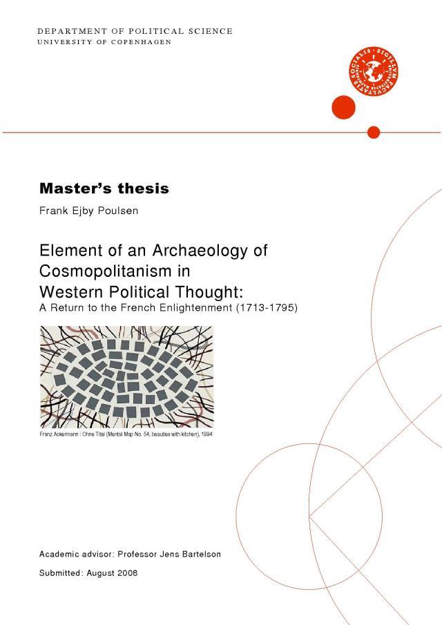 Research Proposal  Frank Ejby Poulsen, Ph.D.